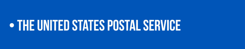 Link to the United States Postal Service